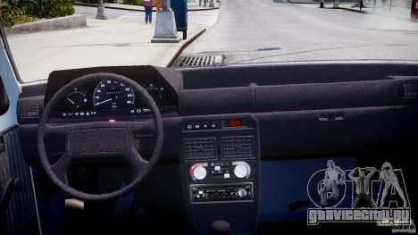 Fiat Duna 1.6 SCL [Beta] для GTA 4 вид справа