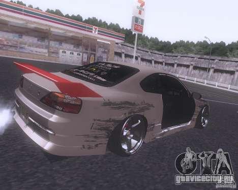 Nissan Silvia S15 Street для GTA San Andreas вид справа