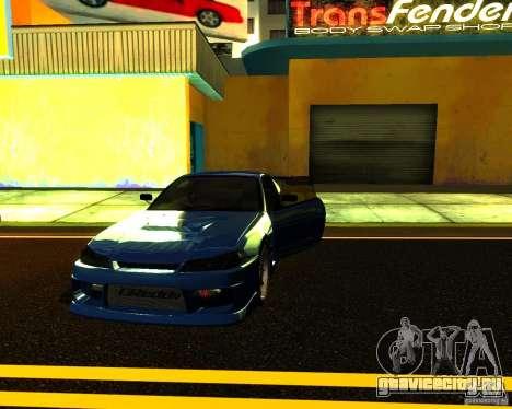 Nissan Silvia C-West для GTA San Andreas вид сбоку