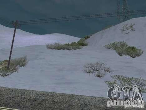Frozen bone country для GTA San Andreas третий скриншот