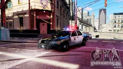 CVPI LCPD San Diego Police Department для GTA 4