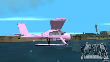 PZL 104 Wilga для GTA Vice City вид сзади слева