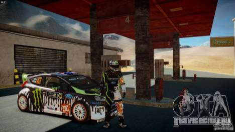 Ken Block Gymkhana 5 Clothes (Unofficial DC) для GTA 4 третий скриншот