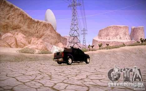 Nissan Fronter для GTA San Andreas двигатель
