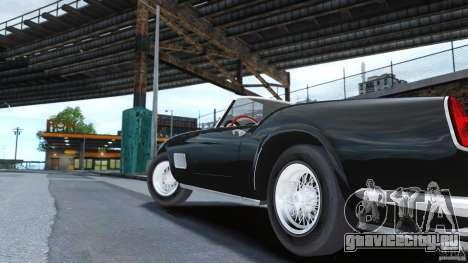 Ferrari 250 California 1957 для GTA 4 вид сзади слева