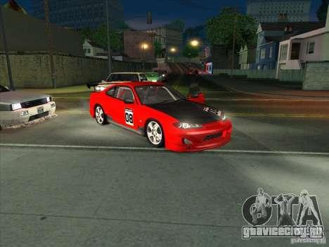 Nissan Silvia S15 Tunable KIT C1 - TOP SECRET для GTA San Andreas вид сверху
