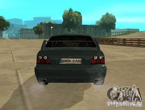 BMW E36 Coupe для GTA San Andreas вид справа