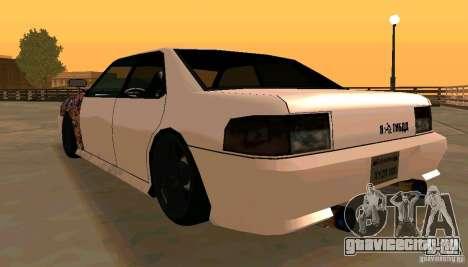 New Sultan v1.5 для GTA San Andreas вид справа