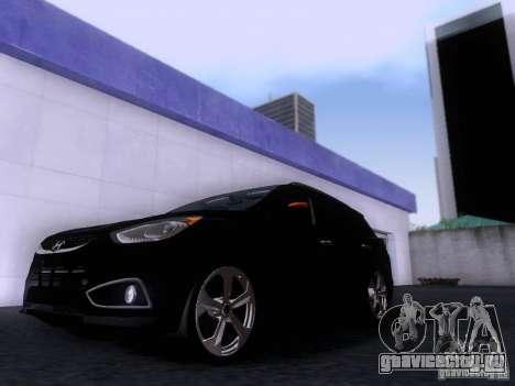 Hyundai ix35 для GTA San Andreas вид слева
