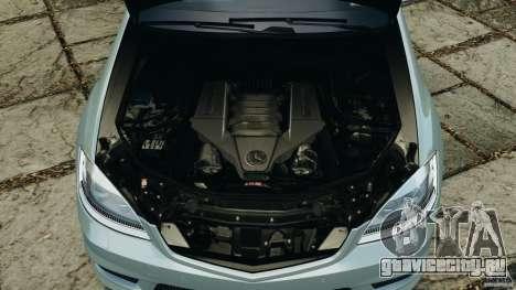 Mercedes-Benz S65 AMG 2012 v1.0 для GTA 4 вид снизу