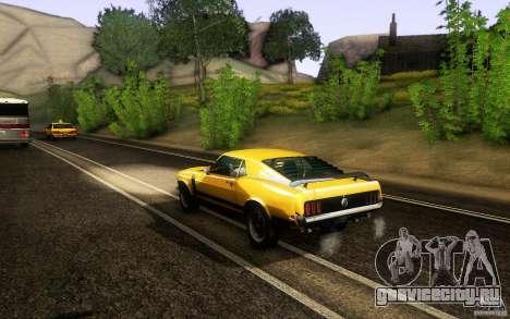 Ford Mustang Boss 302 для GTA San Andreas вид справа