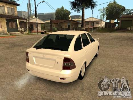 Ваз 2172 Приора для GTA San Andreas