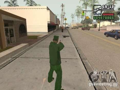Ragdoll + Endorphin mod v1.0 для GTA San Andreas третий скриншот