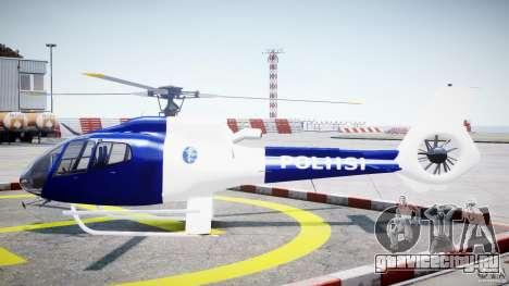 Eurocopter EC 130 Finnish Police для GTA 4 вид слева
