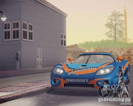 Koenigsegg CCX 2006 v2.0.0 для GTA San Andreas