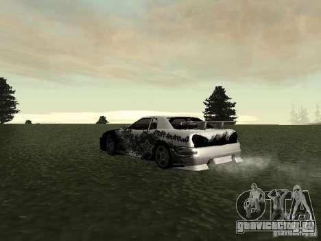 Drift Star для GTA San Andreas вид сзади слева