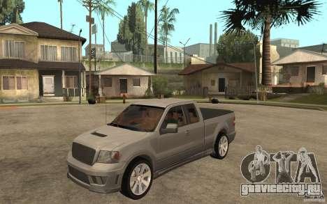 Saleen S331 Super Cab для GTA San Andreas