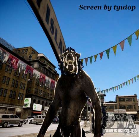 Werewolf from Skyrim для GTA 4