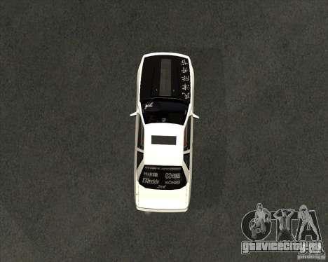 Nissan Silvia S13 streets phenomenon для GTA San Andreas вид справа