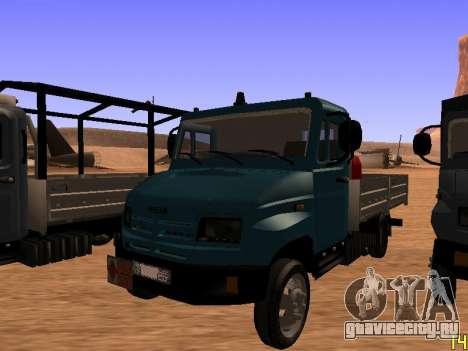 ЗиЛ 5301 Бычок для GTA San Andreas вид сзади