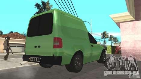 Opel Combo 1.4 для GTA San Andreas вид сзади слева