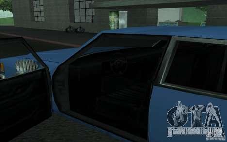 Civilian Police Car LV для GTA San Andreas вид справа