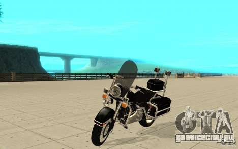 GTAIV TBOGT PoliceBike для GTA San Andreas
