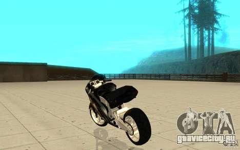 GTAIV TLAD Hakuchou Custom Version [paintjob] для GTA San Andreas вид сзади слева