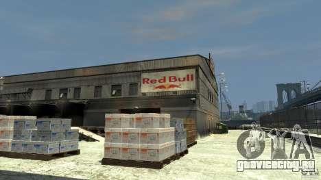 Red Bull Factory для GTA 4 второй скриншот
