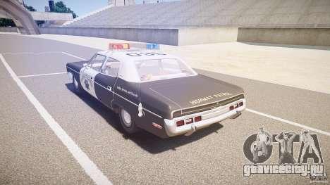 AMC Matador CHP [ELS] для GTA 4 вид сзади слева