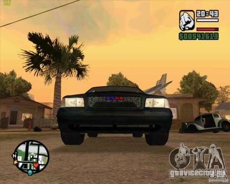Ford Crown Victoria FBI для GTA San Andreas вид слева