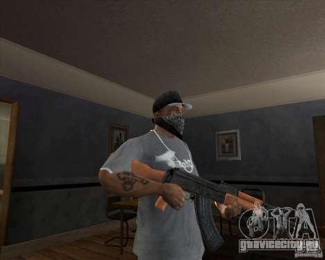 АК-47 модернизированный для GTA San Andreas