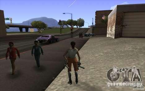Chell from Portal 2 для GTA San Andreas второй скриншот