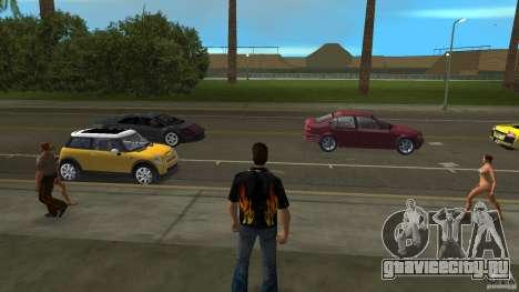 Mr. Fire с синими джинсами для GTA Vice City второй скриншот
