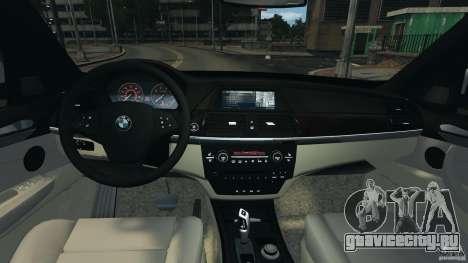 BMW X5 xDrive48i Security Plus для GTA 4 вид сзади