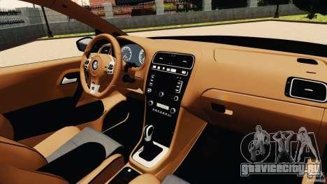 Volkswagen Polo v2.0 для GTA 4 вид сзади