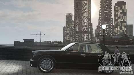Bentley Arnage T v 2.0 для GTA 4 вид сбоку