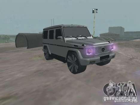 Mercedes-Benz G500 Kromma 1480 для GTA San Andreas