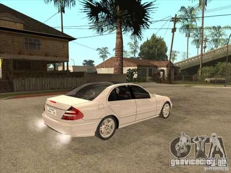 Mercedes-Benz E55 AMG для GTA San Andreas вид справа