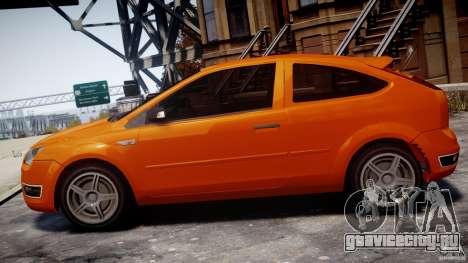 Ford Focus ST для GTA 4 вид слева
