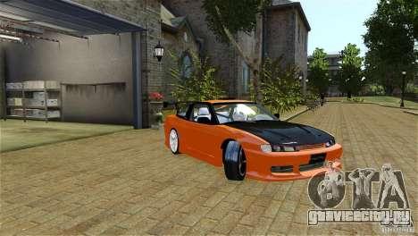 Nissan Sil1480 Drift Spec для GTA 4 вид слева