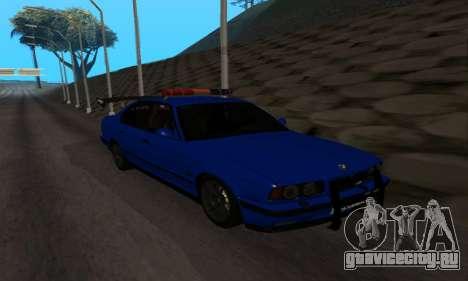 BMW M5 POLICE для GTA San Andreas