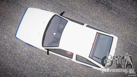 Toyota Trueno AE86 Initial D для GTA 4 вид справа