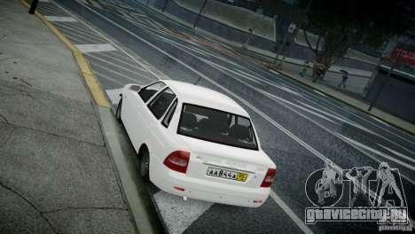 Лада Приора для GTA 4 вид справа