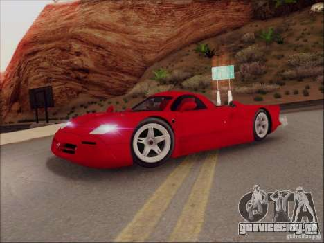 Nissan R390 Road Car v1.0 для GTA San Andreas вид слева