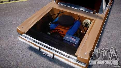 Plymouth Fury III Coupe 1969 для GTA 4 вид изнутри