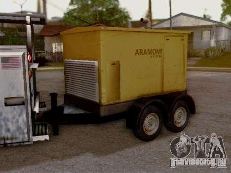 Trailer Generator для GTA San Andreas вид сзади