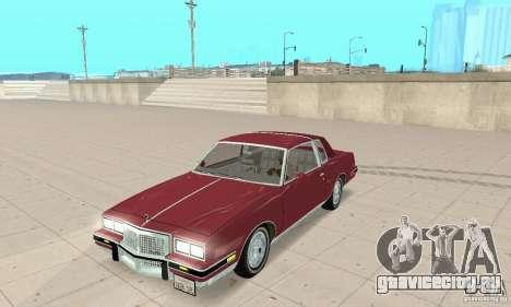 Pontiac Grand Prix 1985 для GTA San Andreas