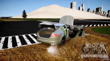 Jaguar XFR 2010 для GTA 4 вид сверху