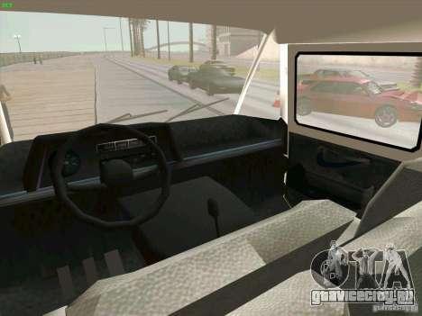 Zuk A-1805 для GTA San Andreas вид сзади